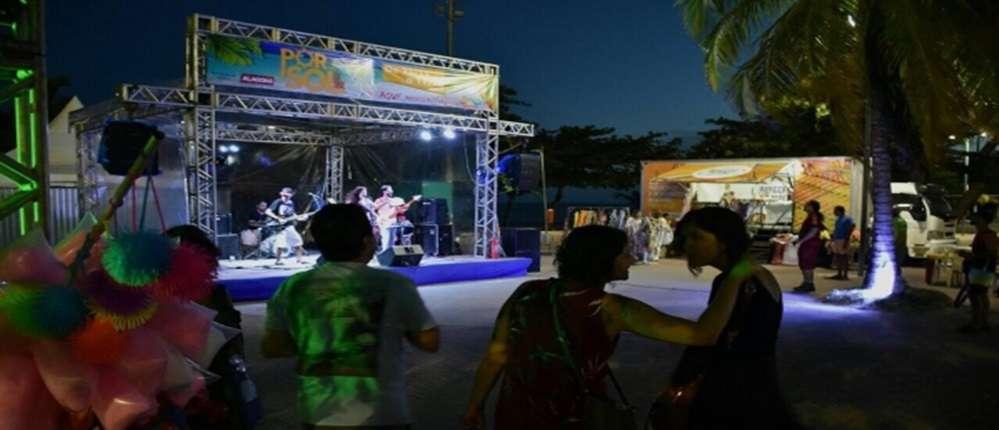 Festival busca dar a oportunidade para os produtores culturais alagoanos mostrarem seu trabalho Foto: Neno Canuto