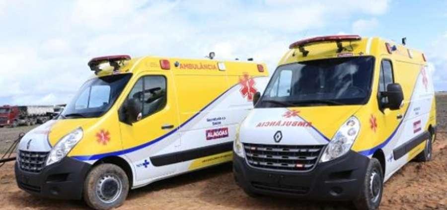Ambulâncias do Serviço de Transporte Sanitário foram adquiridas com recursos próprios do Estado(Foto: Thiago Henrique)
