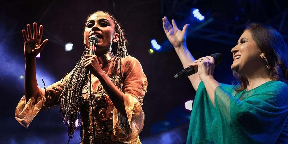 Naná Martins e Wilma Araújo. Foto: divulgação