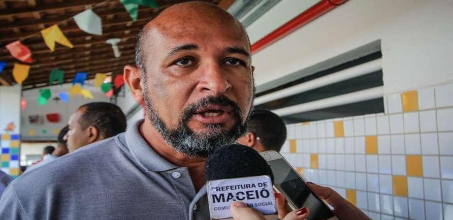 Diretor de Planejamento Orçamentário da Secretaria Municipal e Economia (Semec), Jailton Nicácio. Foto: Secom Maceió
