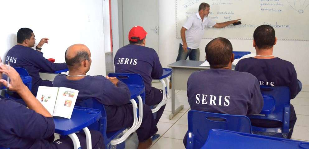 Ressocialização proporciona oportunidades para mudança de vida por meio do trabalho(Fotos: Jorge Santos)